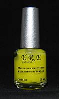 Масло для кутикулы с кисточкой YRE COM-01-006, удаление кутикулы масло