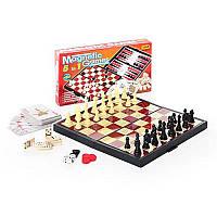 """Игровой набор. Настольная игра """"Шахматы"""" 9841 А 5 в 1 HN"""