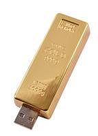 USB Зажигалка слиток золота