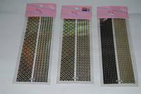 Наклейки стикеры двойные для ногтей, наклейки YRE  NLS-00, стикеры для маникюра