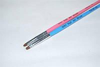 Кисть для геля скошенная №4, кисть yre ykgr-04,все для росписи ногтей