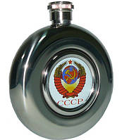 Фляга солдатская СССР из пищевой нержавеющей стали