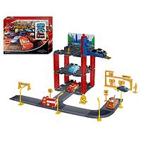 """Детский гараж """"""""тачки"""" (копия)"""" на 3 уровня, 3 машинки, metr+ p 1399 hn"""