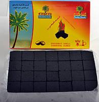 Уголь для кальяна Кокос 1кг, 112 кубиков