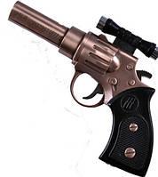 Зажигалка газовая Пистолет с лазером №4428