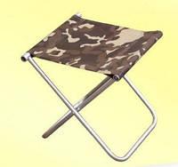 стул складной без спинки толстая труба  широкий