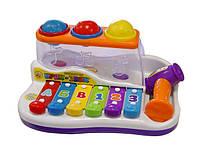 Ксилофон c молотком Joy Toy 9199 КК, HN
