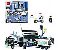 Конструктор Полицейский фургон Brick 128 (325 деталей) HN, КК