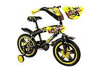 Детский велосипед 2-х колесный, 12 дюймов, sx-001-12 kk (желтый)