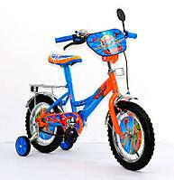 Детский двухколесный велосипед Самолеты, 14 дюймов, J 141402 KK