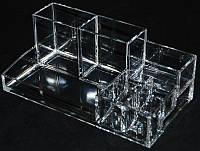 Органайзер для косметики пластиковый YRE MF-B035, подставка для косметики на туалетный столик