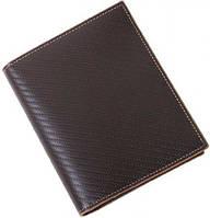 Превосходная кожаная обложка для документов и карточек Vip Collection 198B TC коричневый