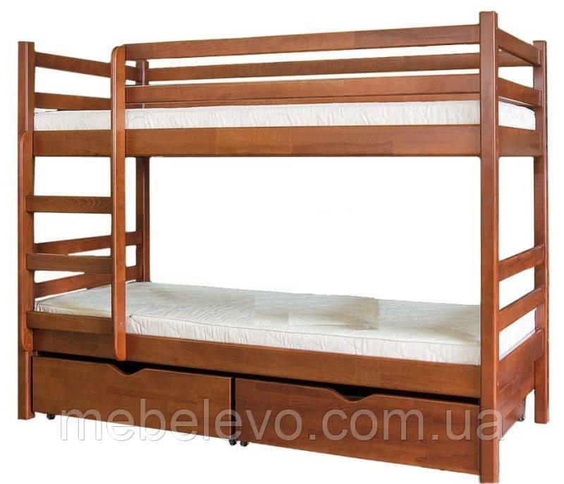 Кровать двухярусная  Кенгуру 1600х2000х800мм    Мебель-Сервис