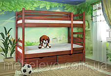 Кровать двухярусная  Кенгуру 1600х2000х800мм    Мебель-Сервис, фото 3