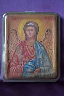 Деревянная икона Ангел Хранитель