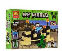 Конструктор Minecraft, Стив и Крипер