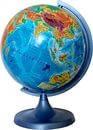 Глобус 16см физический  DPK033588