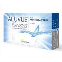 Контактные линзы Acuvue Oasys with HYDRAKLEAR Plus (6шт)