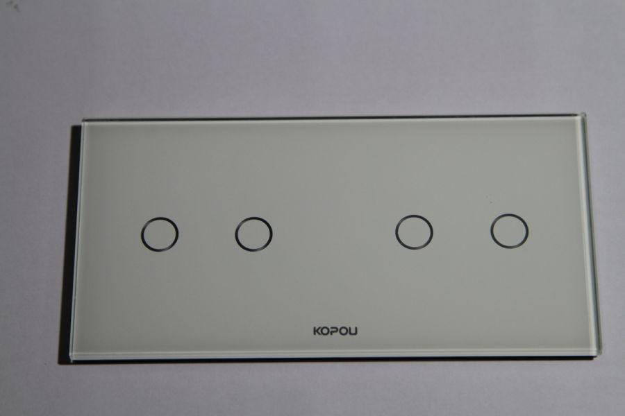 Сенсорный выключатель Kopou 4 линии