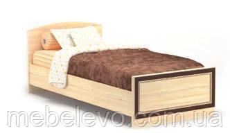 Кровать Дисней 900 755х976х2064мм дуб светлый   Мебель-Сервис