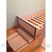 Кровать Дисней 900 755х976х2064мм дуб светлый   Мебель-Сервис, фото 3
