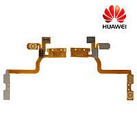 Шлейф для Huawei S8600, кнопок звука, кнопки включения, подсветки дисплея, с компонентами (оригинал)