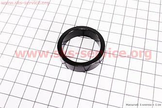 Кольцо передней вилки  1-1/8 - h10мм, черное