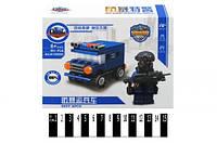 Детский конструктор KY98506 Машина Полиции