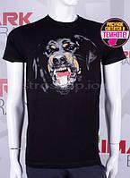 Модная мужская футболка с собакой