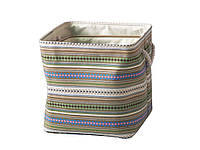 Корзина текстильная с ручками,размер М