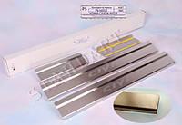Накладки порогов Honda Civic IX 4D 2012-
