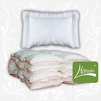 Комплект одеяло+подушка Зимний сон 110х140 см Макобатист