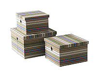 Короб текстильный с крышкой, размер S