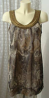 Платье женское легкое летнее вышивка Dorothy Perkins р.48 6303а