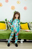 Стильный костюм для девочки колибри, фото 1