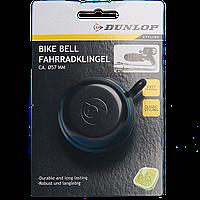 Звонок для велосипеда Dunlop, черного цвета, 52 мм