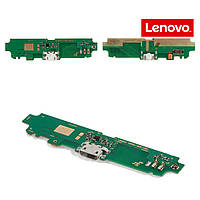 Шлейф для Lenovo S650, коннектора зарядки, микрофона, с компонентами, оригинал
