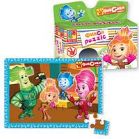 Детские мягкие пазлы Фиксики Vladi Toys VT1105-05