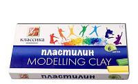 Луч Пластилин Классика 6 цветов, 120г, 12С878-08  арт.540222