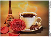 """Схема для вышивания бисером """"Сладкий аромат кофе"""" 350"""
