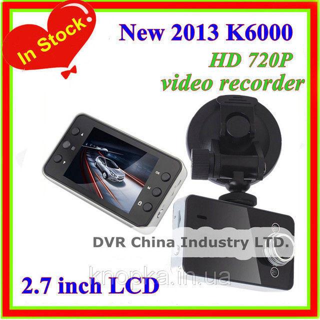 Автомобільний відеореєстратор DVR K6000