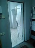 Москітна сітка на двері з магнітами 90см на 210см, фото 4