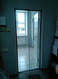 Москітна сітка на двері з магнітами 90см на 210см, фото 2