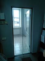 Сетка москитная на двери с магнитами