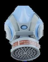 Респиратор KROHN 9410A со съёмным фильтром силиконовый (шт.)
