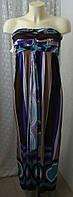 Платье женское летнее стильное модное макси бренд Loli Miss р.42 6287, фото 1