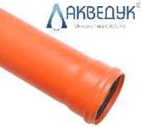 Труба для наружной канализации Акведук д.160х3м SN2 (3,2)