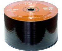 Диск VS CD-RW 700 MB 4x-12x Bulk/50 (CMC) бежевый