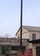 Труба дымовая 630*9 мм с растяжками