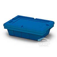 Вкладываемый контейнер Instore синий 490х330х140 мм (5314) с крышкой L53